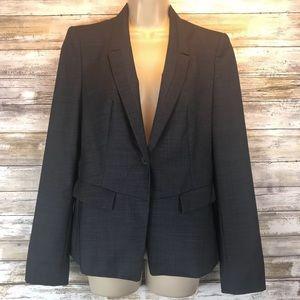 Boss Hugo Boss Gray one button jacket Sz 6